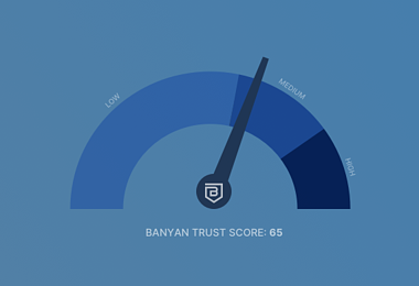 Introducing Banyan TrustScore: Your Security Credit Score for the Zero Trust Era