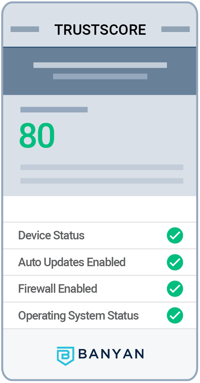 Banyan Trustscore Mobile Version
